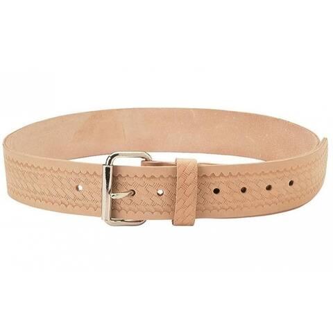"CLC E4521 Embossed Leather Work Belt, 2"" W"