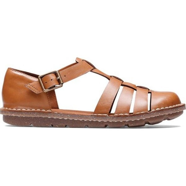 041ac38666 Shop Clarks Women's Blake Moss Fisherman Sandal Tan Leather - On ...