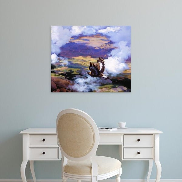 Easy Art Prints Julie T. Chapman's 'High in the Sunlit Silence' Premium Canvas Art