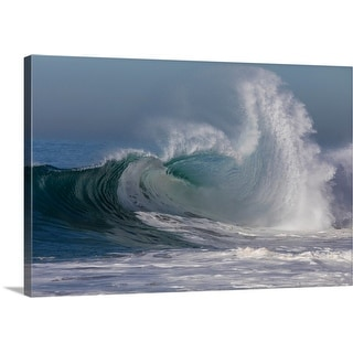 """Waves in the Pacific Ocean, Newport Beach, Orange County, California"" Canvas Wall Art"