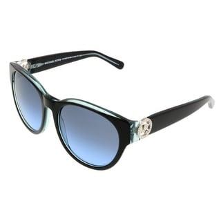 Michael Kors MK6001B BERMUDA 300117 Black/Blue Wayfarer Sunglasses