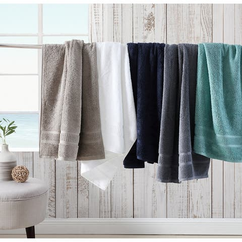 Nautica Oceane Solid Cotton 6 Piece Towel Set - 6 Piece