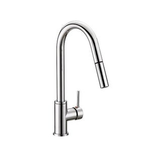 Design House 548297 Eastport 1.8 GPM Pull-Down Kitchen Faucet - Polished chrome - n/a