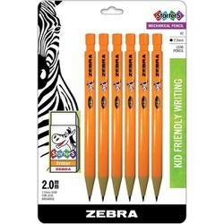 Orange - Cadoozles Mechancial Pencils 6/Pkg