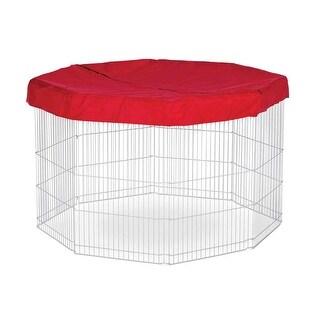 Prevue Pet Red Pet Playpen Mat/Cover - 40097