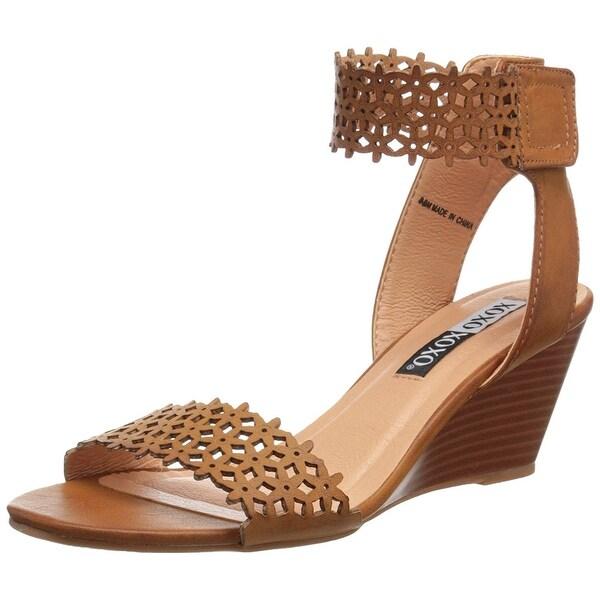 XOXO Womens Sadler Open Toe Casual Platform Sandals