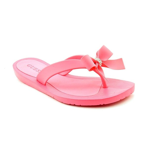 c7e58467ec3b Shop Guess Tutu Women Open Toe Synthetic Pink Flip Flop Sandal ...