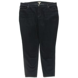Eileen Fisher Womens Plus Skinny Jeans Denim Stretch - 20W