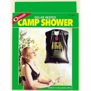 Coghlan's 9965 Solar Heated Camp Shower, 5 Gallon