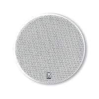 """PolyPlanar 5.25"""" Platinum Round Marine Speaker, Pair - White"""