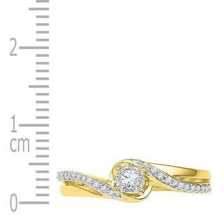 1/8Ctw Diamond Fashion Ring - White