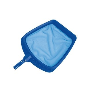 "20.5"" Heavy Duty Blue Plastic Swimming Pool Leaf Skimmer Head"