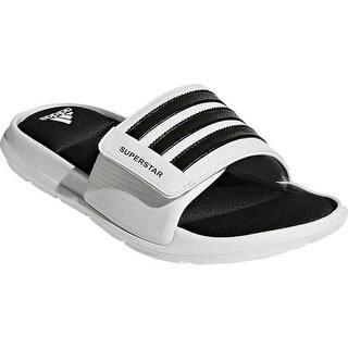 info for f2f4d 944f9 adidas Men s Superstar 5G Slide Sandal White Black White