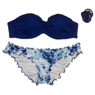Victoria's Secret 2PC Swimsuit Bikini Set Knockout Bandeau