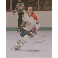 Signed Shutt Steve Montreal Canadiens 8x10 Photo autographed