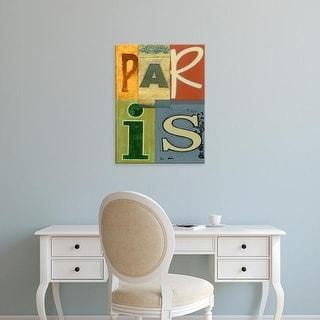 Easy Art Prints Vision Studio's 'Paris' Premium Canvas Art