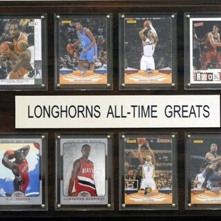 C I Collectables 1215ATGTEXBK NCAA Basketball Texas Longhorns All Time Greats Plaque