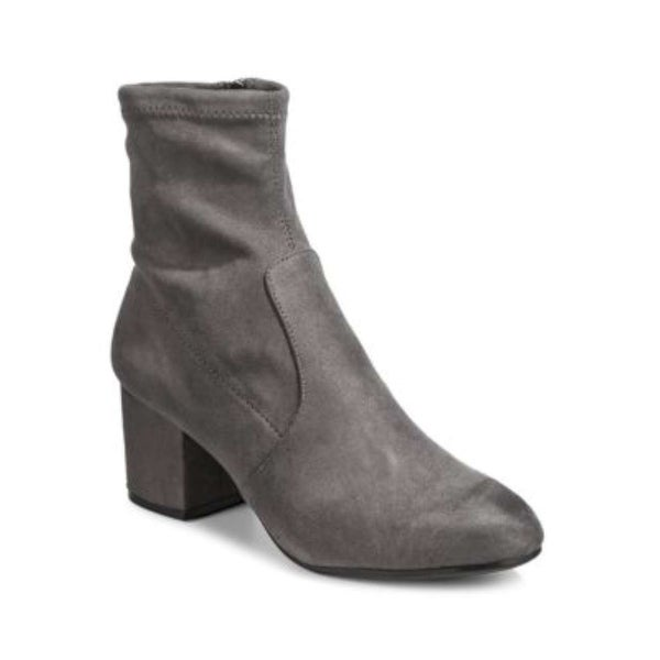 Steve Madden Womens IRVEN Fabric Closed Toe Ankle Fashion Boots