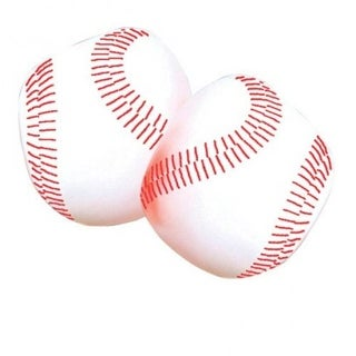 US Toy GS139X5 4 in. Foam Filled Baseballs - 5 per Pack - Pack of 12