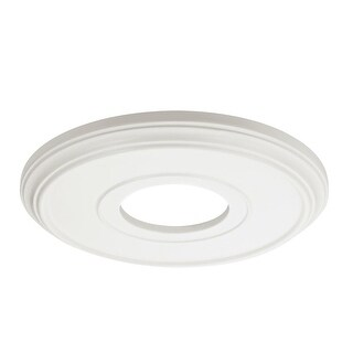 """Dolan Designs 10571 Recesso 13"""" Wide Paintable Ceiling Medallion for Recessed Lighting - paintable white - N/A"""