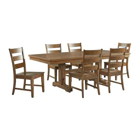 Picket House Furnishings Sultan 7PC Dining Set-Table & Six Side Chairs