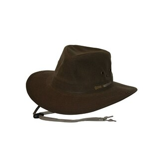 Outback Trading Hat Mens River Guide Oilskin Waterproof Rugged