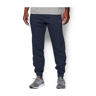 Under Armour NEW Blue Mens Size Small S Drawstring Soho Fleece Pants