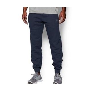 Under Armour NEW Navy Blue Mens Size XL Soho Fleece Athletic Pants