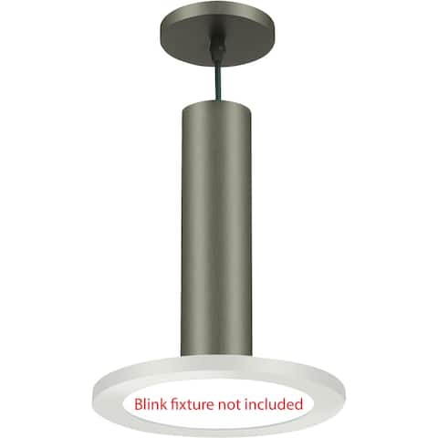 "Nuvo Lighting 62/1306 BLINK Slim 9"" Pendant Conversion Kit - - Brushed Nickel"