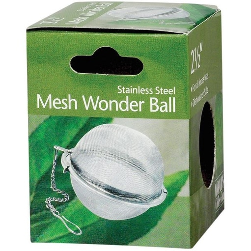 HIC YI-2361 Mesh Wonder Tea Ball, Stainless Steel, 2-1/2""