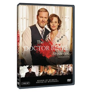 Doctor Blake Mysteries: Season Five (5) DVD, Region 1