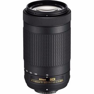 Nikon AF-P DX NIKKOR 70-300mm f/4.5-6.3G ED Lens - Black