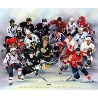 ''NHL'' by Wishum Gregory Celebrities Art Print (20 x 24 in.)