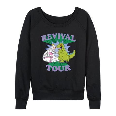Rugrats - Reptar Revival Tour - Women's Lightweight French Terry Pullover
