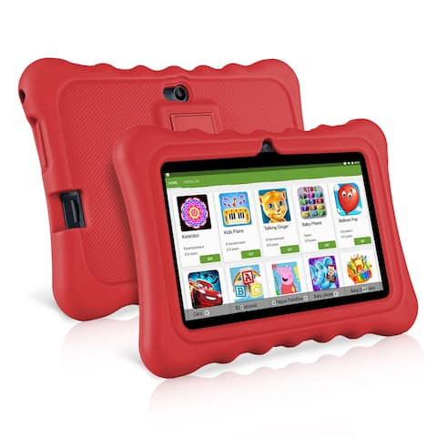 """Ainol Q88 Kids Android 7.1 OS Tablet 7"""" Display 1G RAM 8 GB ROM Light Weight Red"""