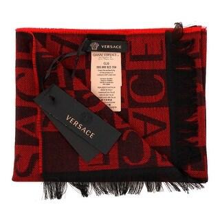 Versace IT00643 100% Wool Mens Scarf
