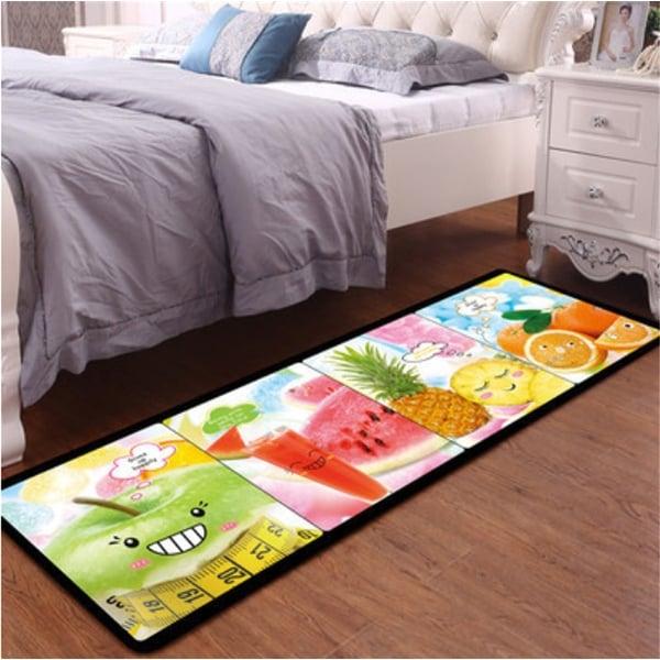 Children\'s Bedroom Anti-Slip Carpet Mat various designs and sizes - Green -  200x60
