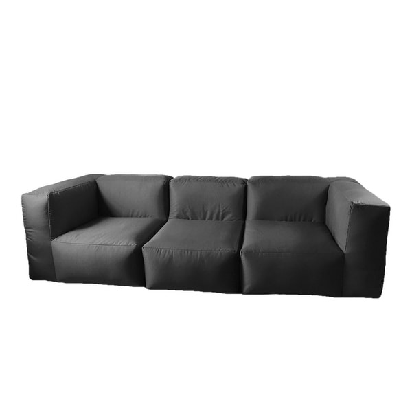 Shop 8.5' Large Gray Rectangular Inflatable Sectioned ... on Safavieh Outdoor Living Granton 5 Pc Living Set id=61888