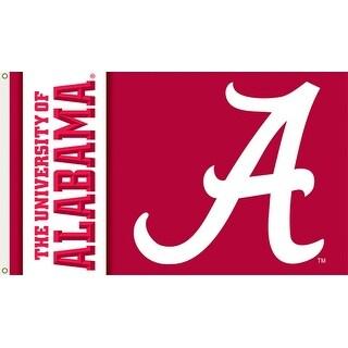 University of Alabama Logo Flag