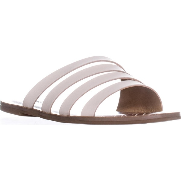 Lucky Brand Anika Flat Slip-On Sandals, Sandshell