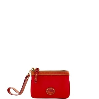Dooney & Bourke Nylon Medium Wristlet (Introduced by Dooney & Bourke at $58 in Feb 2017) - Red