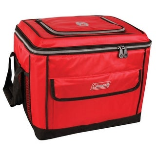 Coleman 40 Can Soft Cooler - Red 40 Can Collapsible Soft Cooler - Red