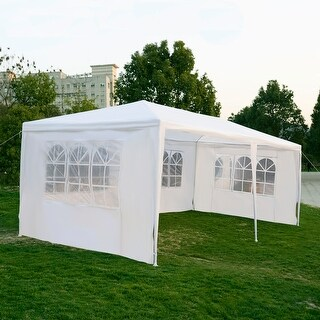 Costway 10u0027x20u0027Outdoor Canopy Party Wedding Tent & Tents u0026 Outdoor Canopies For Less | Overstock.com