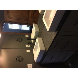 Swiss Madison Voltaire® Rectangular Ceramic Bathroom Vessel Sink