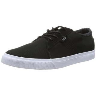 Reef Men's Reef Ridge Fashion Sneaker - Black - 7 d(m) us
