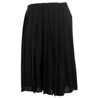 Calvin Klein Women's Large Pleat Skirt