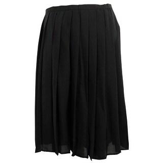 Calvin Klein Women's Large Pleat Skirt - Black (More options available)