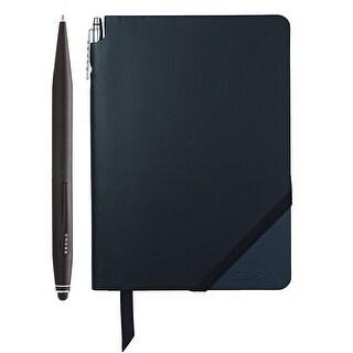 Cross Tech2 Ballpoint pen with refills and Jotzone Journal (Black/Slate- Medium)