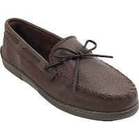 Minnetonka Men's Straight Plug Dark Brown