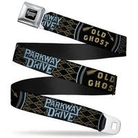 Parkway Drive Full Color Black Gray White Parkway Drive Old Ghost New Seatbelt Belt